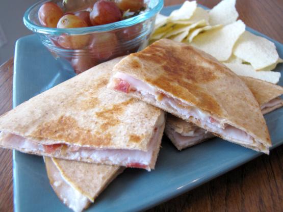 Grilled Turkey Club Quesadillas Recipe - Genius Kitchen