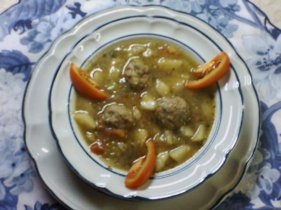 Potato Soup With Meat Dumplings Recipe - Food.com