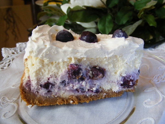 The Best Blueberry Cheesecake Recipe - Food.com