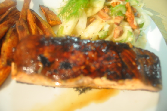 salmon fillets balsamic glazed salmon blasamic glazed salmon fillets ...