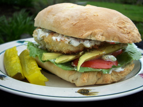 The ultimate fish fillet sandwich recipe genius kitchen for Fish sandwich recipe