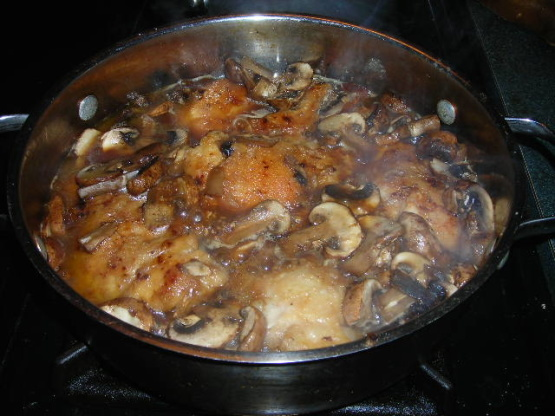 Chicken marsala recipe using thighs