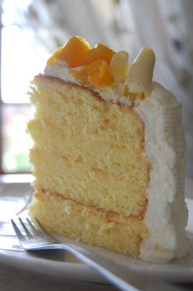 Lemon Passion Fruit Chiffon Cake