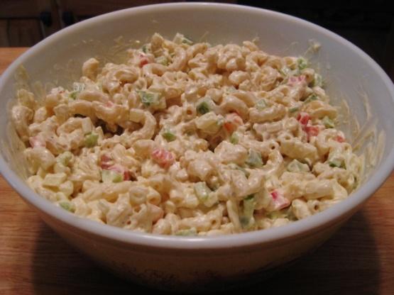Classic Macaroni Salad Recipe classic macaroni salad recipe - food.com