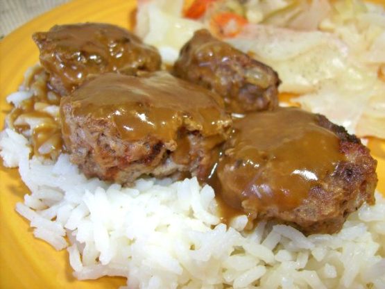 Man vs food recipes meatballs and rice