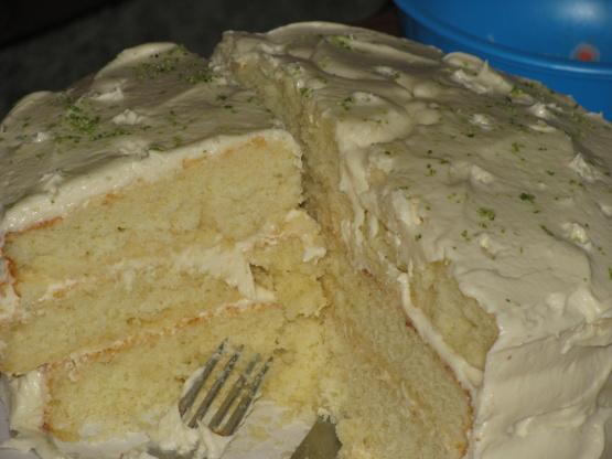 Paula Deen Key Lime Pound Cake