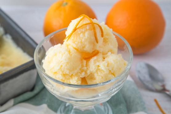 Мороженое апельсиновое рецепт