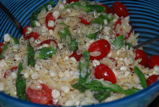 Summer Orzo Salad RecipeFood.com