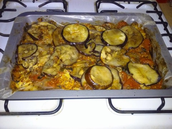 Layered Eggplant And Polenta Casserole Recipe - Genius Kitchen