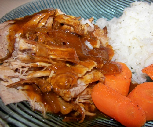 Couldnt Be Easier Bbq Pork Tenderloin Crock Pot Recipe Genius Kitchen