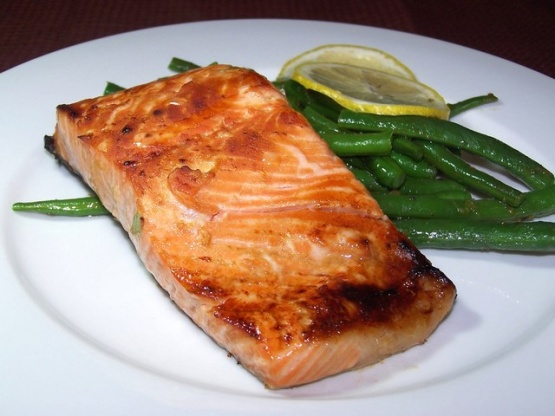 ginger grilled salmon honey ginger grilled salmon 1 pound center cut ...