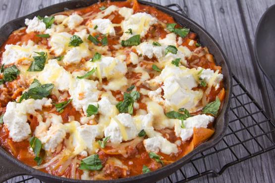 recipe: skillet lasagna cooks illustrated [2]