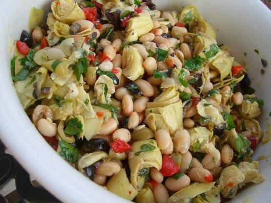 Antipasto-Style White Bean Salad Recipe - Food.com
