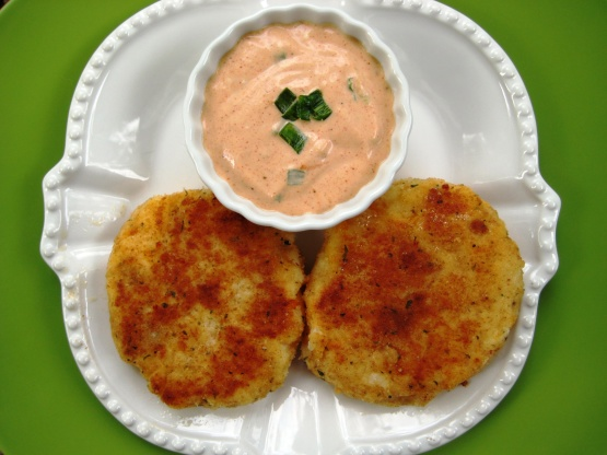 Crab Cakes And Tomatoes