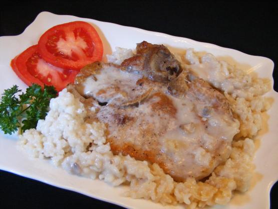 Pork chop recipes with rice