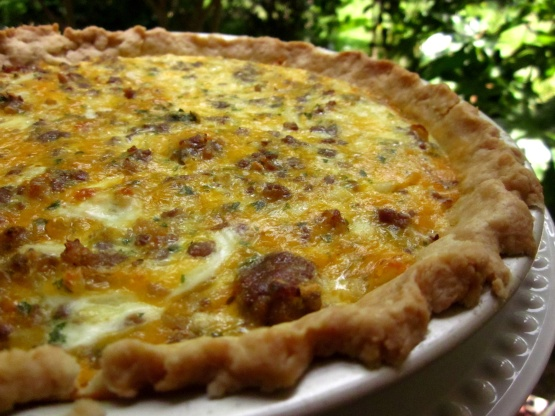 up sausage quiche linda s low sausage quiche with mushrooms sausage ...