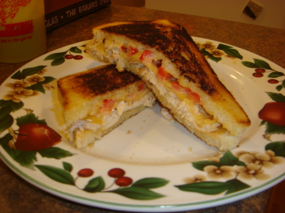 Southwestern Chicken Panini With Lime Chipotle Mayonnaise ...