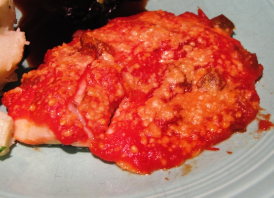 Oven baked salsa fish fillets recipe genius kitchen for Oven baked fish