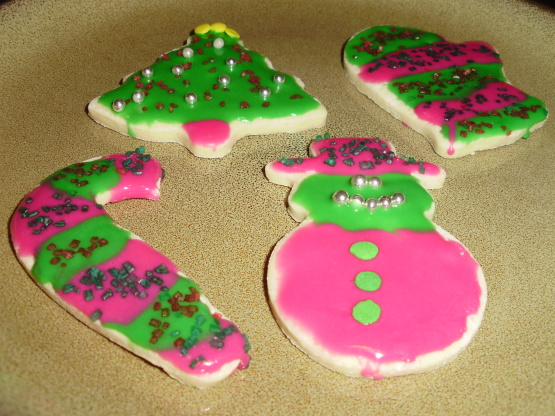 Recipes for icing for sugar cookies