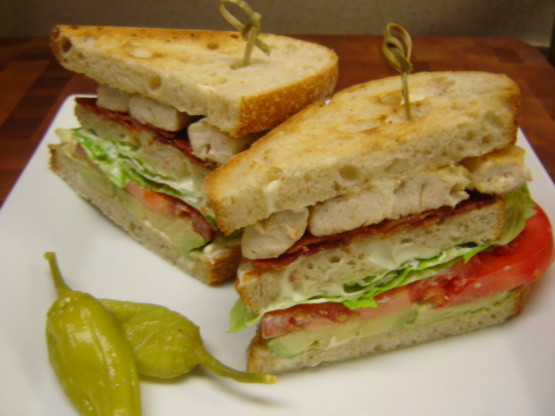 Cobb Club Sandwich Recipes — Dishmaps