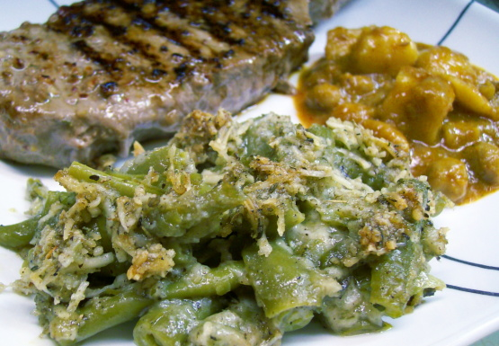 ... green bean serves 8 diana 2 herbed green bean casserole anika s cheesy