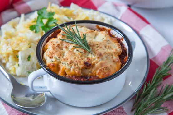 Italian Pot Pies Recipe - Genius Kitchen