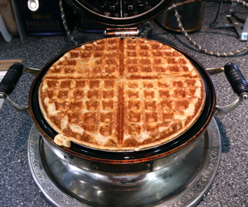 chicken and cornmeal waffles recipe