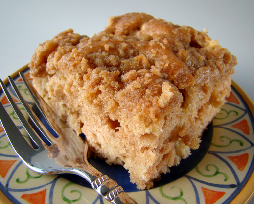 Caramel Apple And Walnut Coffee Cake For Baketogether Recipe ...