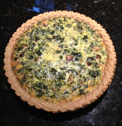 Easy Spinach And Mushroom Quiche RecipeFood.com