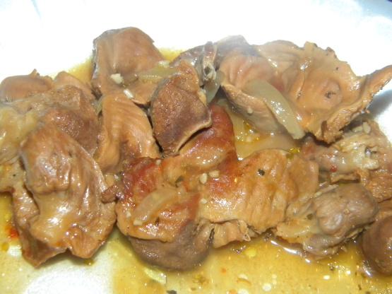 Finger lickin chicken gizzards recipe genius kitchen ccuart Choice Image