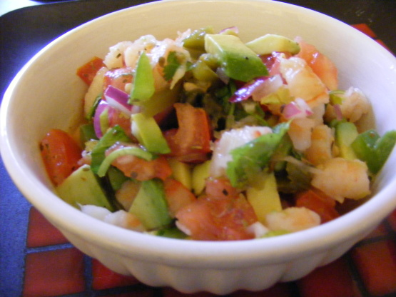 Shrimp ceviche recipe mexican for Shrimp and fish ceviche