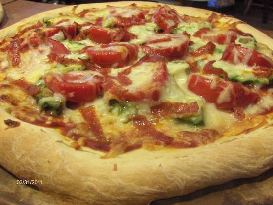 easy pizza dough bread machine