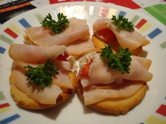 Cheesy Herb And Turkey Bites Recipe - Food.com