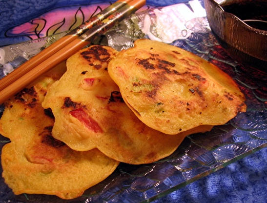 Korean Shrimp And Scallion Pancakes Recipe - Food.com