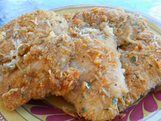 Oven Baked Parmesan-Romano Chicken Recipe - Genius Kitchen
