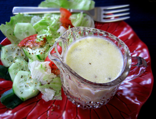 Olive garden salad dressing food network kitchens copycat recipe genius kitchen for Olive garden salad dressing ingredients