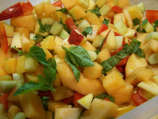 Mixed Fruit And Vegetable Salad Recipe