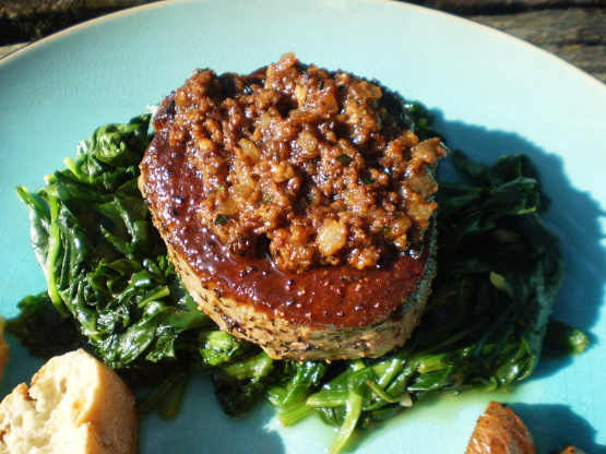 ... With Whole Grain Mustard And Tarragon Sauce Recipe - Food.com