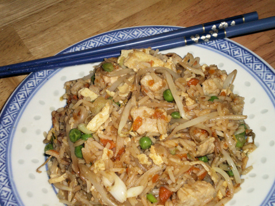chicken fried rice recipe with sesame oil