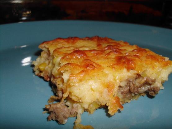 recipe: mexican cornbread casserole recipe ground beef [33]