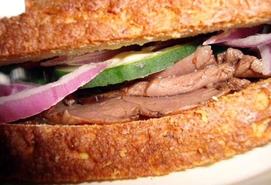 Horseradish Roast Beef Special Sandwich Recipe - Food.com