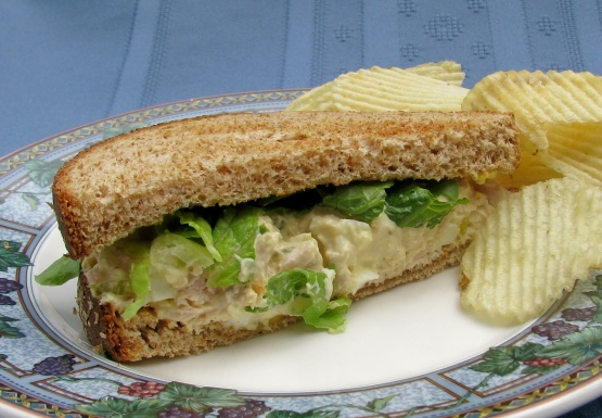 Twisted tuna fish sandwich recipe genius kitchen for Tuna fish sandwich