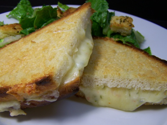 Parmesan-Crusted Grilled Cheese Sandwich Recipe - Food.com