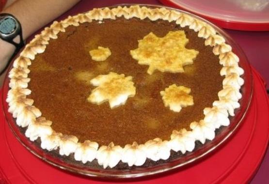 Pumpkin Eggnog Custard Pie Recipe - Food.com