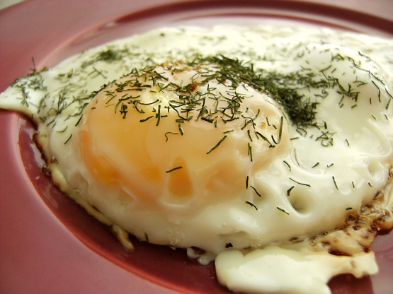 Fried Eggs With Dill Recipe - Food.com