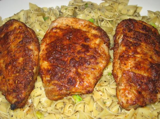 Boneless pork chop recipe oven