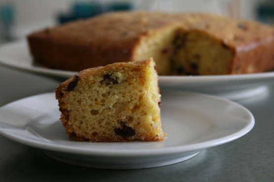 Spiced Orange And Cranberry Snacking Cake Recipe - Food.com