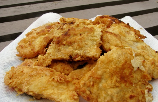 Fried cod for fish and chips with tartar sauce recipe for Fried fish nutrition