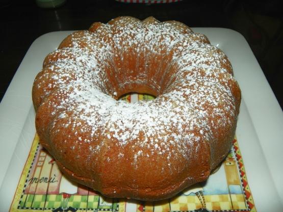 Recipe sour cream lemon pound cake