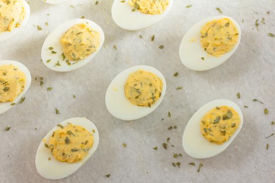 Deviled Eggs With Lemon Recipe - Genius Kitchen